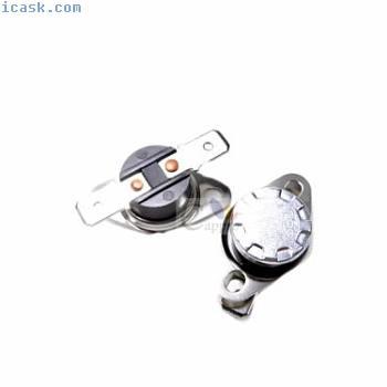 2个300°C 10A 250V N.C. KSD301温度控制器开关双金属片