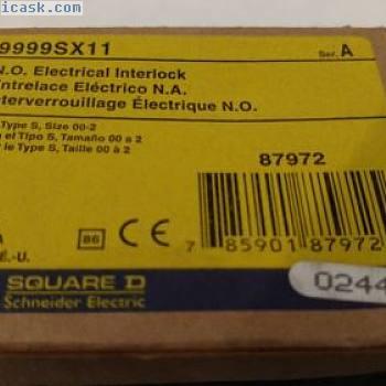 方形D 9999 SX-11 87972电动联锁系列A