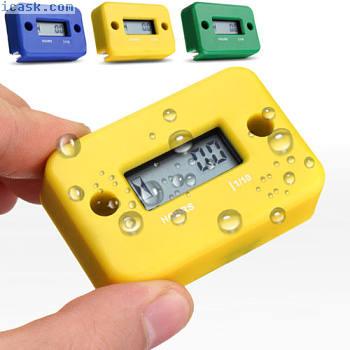 迷你数字LCD摩托车ATV自行车防水计时器量表定时器工具