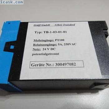 新TB-1-03-01-01 GRAFF GMBH温度控制器