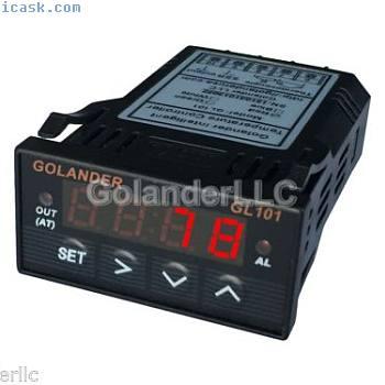通用1 / 32DIN数字F / C PID温度控制器,红色