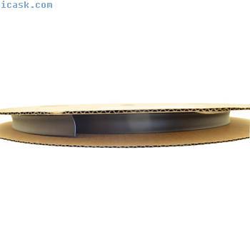 热缩卷轴2:1(D = 6.4mm / d = 3.2mm)75米黑色高质量