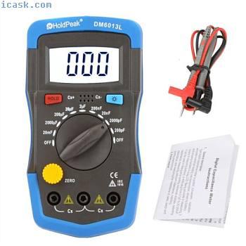 便携式数字电容表电容测试仪电容电子电路