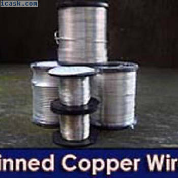 TINNED铜熔丝完整的范围50克