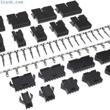 SM 2.5mm连接器套件(2-10针)公头&