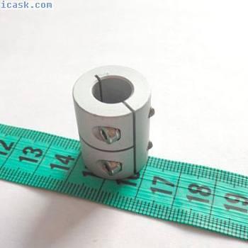 刚性联轴器 - 夹紧型 - 缸径5/6 / 6.35 / 8 / 9.5 / 10/12 / 12.7毫米