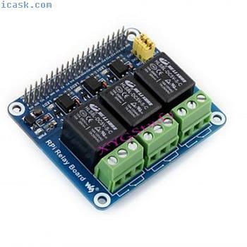 树莓派3 2型B B +扩展电源继电器模块板