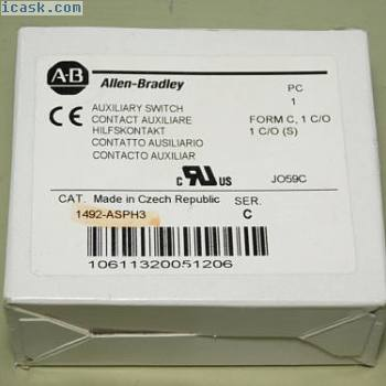 全新 -  Allen-Bradley 1492-ASPH3 Ser。
