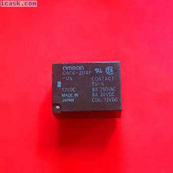 G6CK-2114P-US,12VDC继电器,欧姆龙全新!