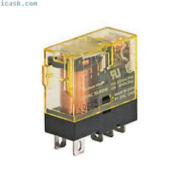 IDEC插入式继电器12A触点SPDT 24VDC线圈RJ1S-C-D24 NIB