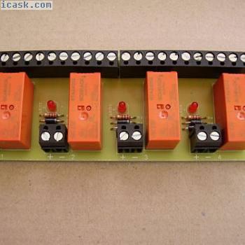 方便的4路继电器板12v直流操作