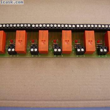 方便的6路继电器板12v直流操作