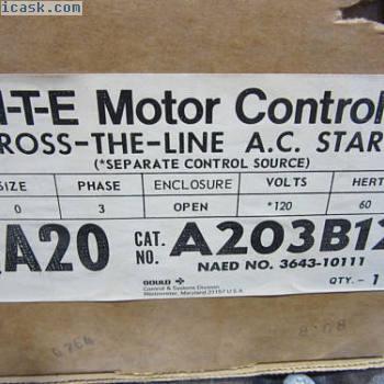 ITE A203B13交流接触器3极尺寸0线圈120V新!