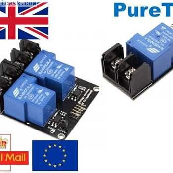 用于Arduino Nano应用Raspberry Pi ESP8266 +光电耦合器的3.3V / 5V 30A继电器模块