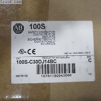 Allen Bradley 100S-C30DJ14BC接触器3P 65A线圈24VDC 100-C30Z * 00C新!