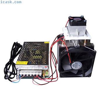 12V 10A热电珀尔帖制冷系统散热风扇