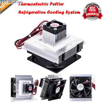 热电Peltier制冷散热器风扇系统散热器套件HY