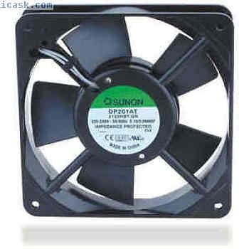 Sunon风扇轴流风扇DP200A-2123XST.GN铝合金120x120x38 230V