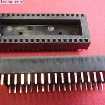稀有IC插座36引脚标准光栅2.54mm 15mm并行距离3x 24556