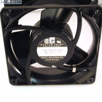 Papst 4800N 115V AC轴向9.5W低噪音风扇32 dBA IP54 OL0332d
