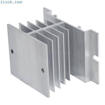 用于SSR 10A〜40A固态继电器散热的Neu铝散热器
