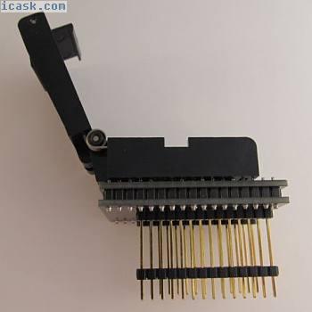 WINSLOW W9339测试插座PLCC44到DIP28  -  A27 / 9903