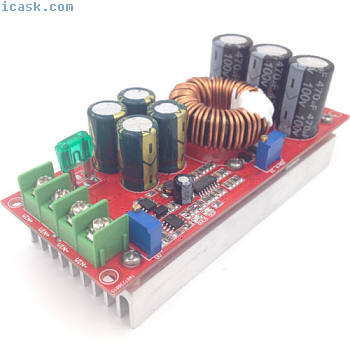1200W大功率DC-DC升压恒压恒流可调模块