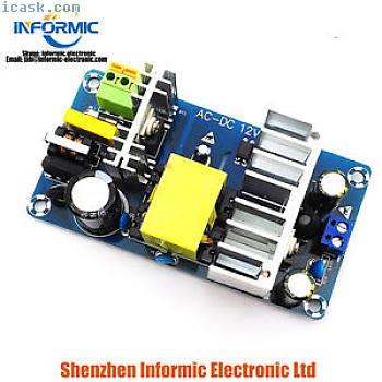 12V大功率开关板AC-DC电源模块12V8A