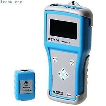 Kurth电子KE7100蓝色 - 网络电缆测试仪(1.5 V,380 g,100 x 45 x 1
