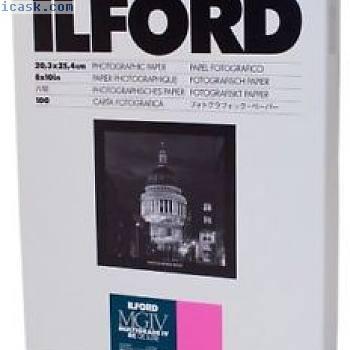 Ilford Multigrade IV RC Deluxe 1M喷墨打印纸 - 打印纸(20.3 x 25.4厘米)