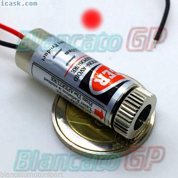 650nm激光模块红点 - 红点可调焦聚焦二极管3V 5V