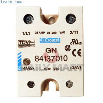 新Crouzet GN84137010 GN 84137010 PLC放大器加热器继电器