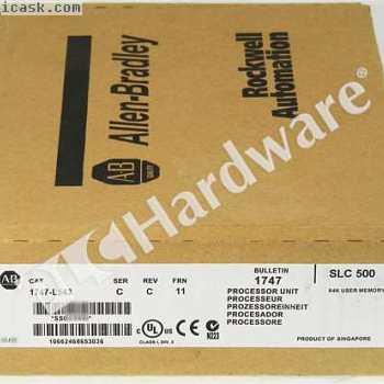 新型Allen Bradley 1747-L543 / C SLC 500 5/04 CPU控制器FRN 11