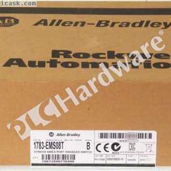 新密封Allen Bradley 1783-EMS08T / B 2015 Stratix 6000管理型交换机8端口