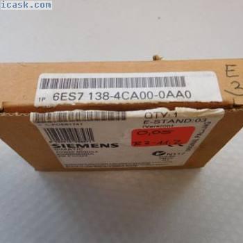 西门子6ES7 138-4CA00-0AA0 E-Stand 3 UNUSED BOXED
