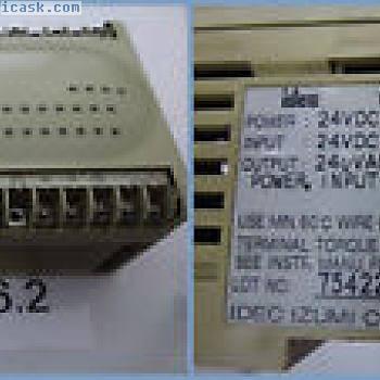 IDEC FC2A-C16A4,电源24VDC 14W,in:0,13ma / other7ma输出:240VAC / 30VDC 2A