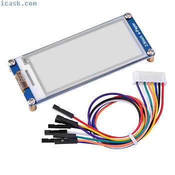 用于Raspberry Pi3 Arduino SPI接口SG的2.9英寸电子墨水显示电子纸模块