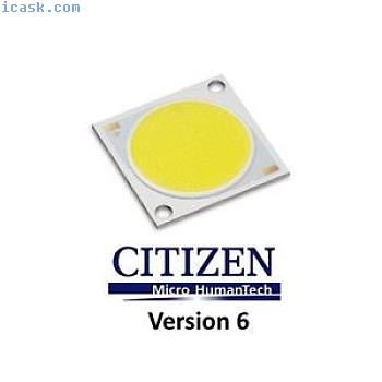 5x CITIZEN CITILED LED芯片3000K COB模块CLU048-1212C4-303H6M3-F1版本6