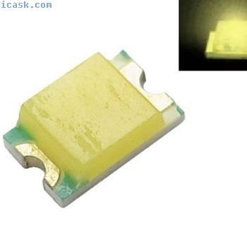 S934  -  100片SMD LED 0805暖白色LED暖白色