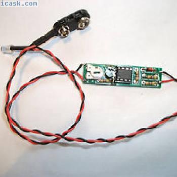 9V LED(5毫米),可调节闪光。