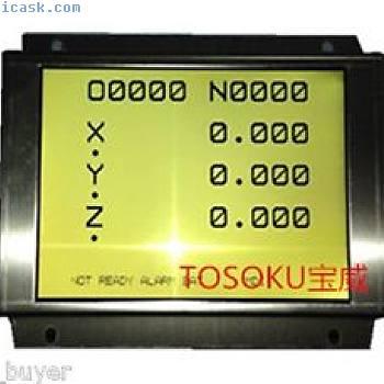 A61L-0001-0072液晶显示屏面板更换Fanuc数控系统新