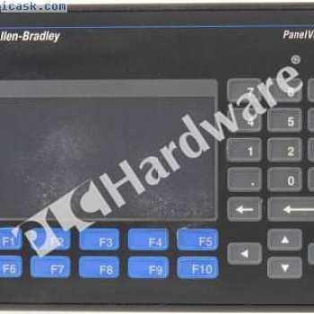 Allen Bradley 2711-B5A1L1 H PanelView 550 MonoTouchKeyRIORS232  - 打印机DC