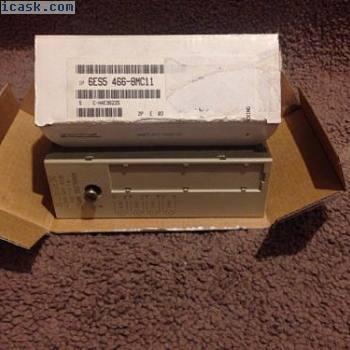西门子6ES5 466-8MC11模拟量输入模块4x0。