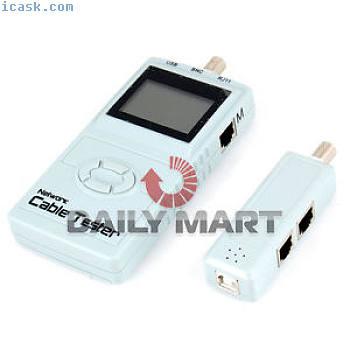 SM-8838数字液晶网络电缆测试仪BNC电表