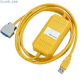 USB-CIF02 +第3代CPM1A,2A系列PLC编程电缆