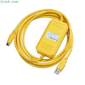 隔离的USB-SC09-FX + FX编程下载电缆