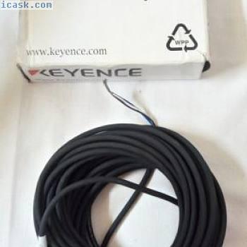 基恩士OP-73865连接器电缆M8直10米PVC