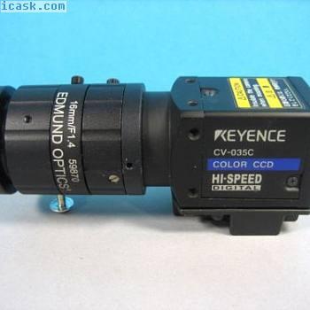 KEYENCE  -  CV-035C高速数码相机w Edmund 59870镜头