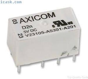 RELAIS,PCB,DPCO,12VDC,Teil#V23105-A5303-A201