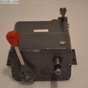 一个使用ZEROMAX Y3  - 一个减速器0-400